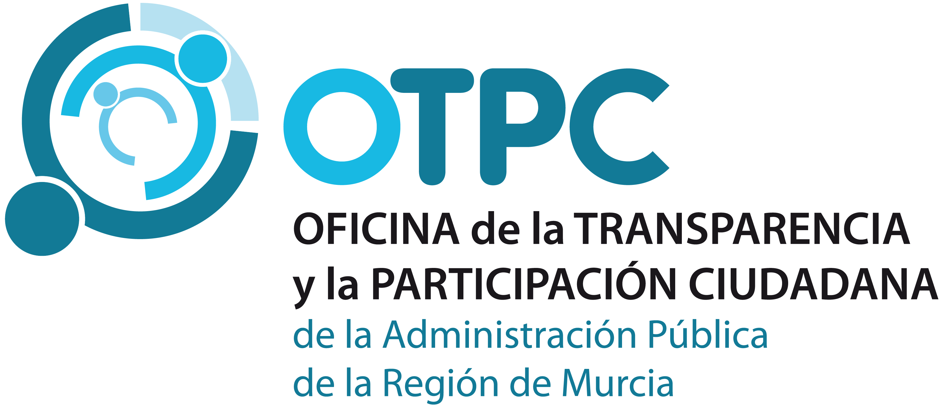 Logotipo de la Oficina de transparencia y participación ciudadana R. de Murcia